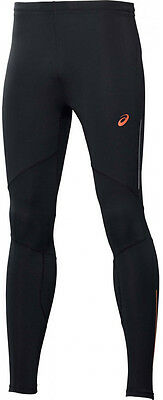 Asics Adrenaline Mens Long Running Tights - Black