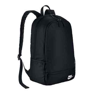 New Nike Classic North Solid Black Unisex Backpack, Rucksack, School, Gym Bag