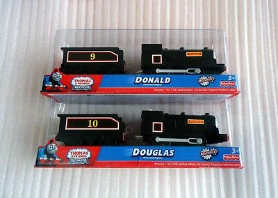 NEW Thomas & friend train trackmaster Battery Douglas and Donald
