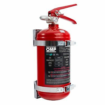 OMP Hand Held Safety Fire Extinguisher - 2.4 Litre - AFFF - Red Bottle