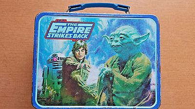 Vintage ESB 1980 STAR WARS The Empire Strikes Back LUNCH BOX ,  no thermos
