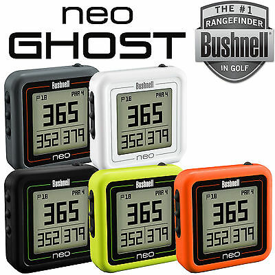 NEW 2017 - Bushnell Neo Ghost Waterproof Golf GPS Rangefinder