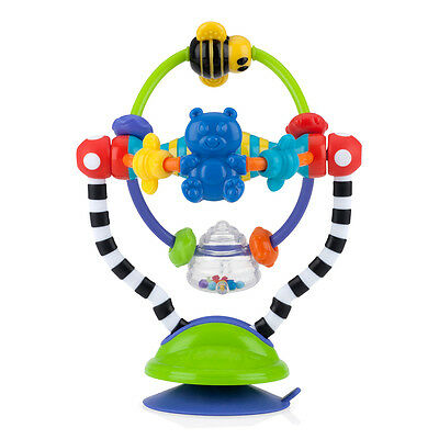 Nuby Baby Silly Spinwheel Highchair Infant Fun Learning Activity Toy 6 Months+