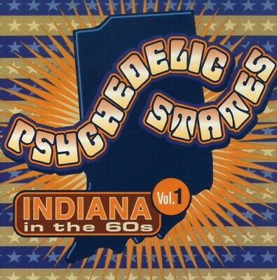 Various Artists - Psychedelic States: Indiana In The 60s, Vol. 1 [New CD]