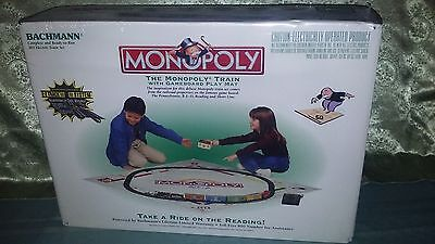 Monopoly Bachmann Ho Electric Train Set # 01201, Complete Set, Factory Sealed!