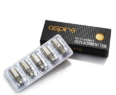 10 x Replacement Coils Head Replacement Tank for Aspire BVC 1.8 ohm K1 K2