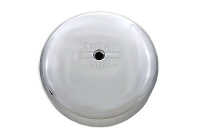 Chrome 7  Round Air Cleaner Cover,for Harley Davidson motorcycles, by V-Twin
