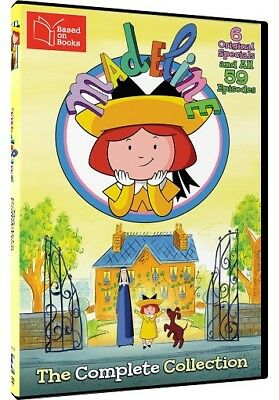 Madeline The Complete Collection Region 1 New DVD (6 Discs)
