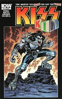 Kiss Kids No.1 / 2013 Bruce Timm Variant Cover Edition
