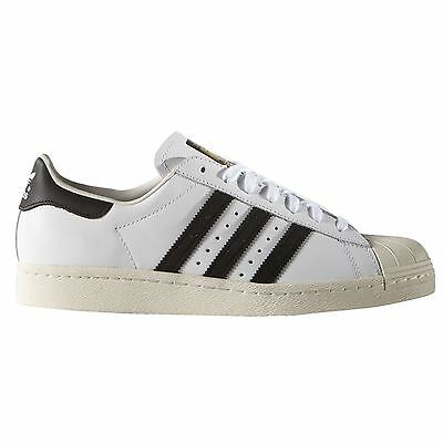 Adidas Superstar 80s White Black Mens Trainers