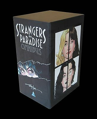 STRANGERS IN PARADISE OMNIBUS SLIPCASE ED TPB Terry Moore Comics TP 2128 PAGES!!