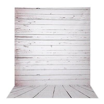 5x7Ft Photography Backdrop Photo Background Studio Pro Polyester Wooden Wall