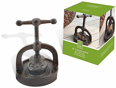Secrets Du Potager Cast Iron Standing Tabletop Nutcracker