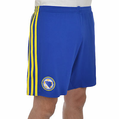 adidas Performance Mens Bosnia and Herzegovina Football Soccer Shorts - Blue