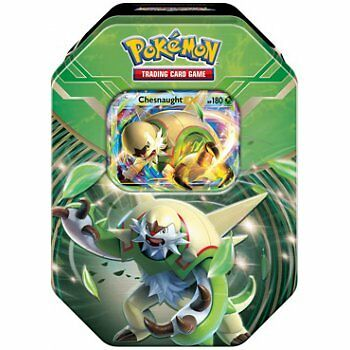 POKEMON XY (BASE SET) * XY Kalos Power Tin - Chesnaught EX