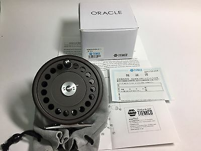 50925) ORACLE TIEMCO Classic Fly Reel Light salmon I SP