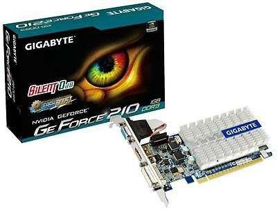 Gigabyte GeForce GT 210 Video Graphics Card HD Experience Series 1GB DDR3
