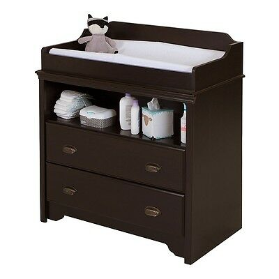 South Shore Fundy Tide Changing Table - Espresso
