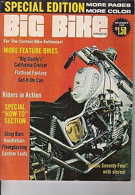 Big Bike Magazine Motorcycle Magazine Special Edition DECEMBER 1970 DEC