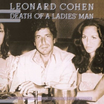 Leonard Cohen Death Of A Ladies Man Lp Vinyl 33Rpm New