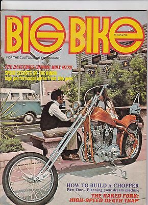 Big Bike Magazine Motorcycle Magazine SEPTEMBER 1971 SEPT