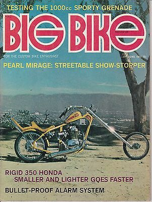 Big Bike Magazine Motorcycle Magazine JUNE 1972 JUN