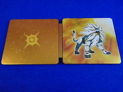 ds POKEMON SUN Steelbook TIN ONLY Steel Book NO GAME Fan Edition
