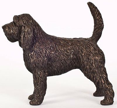 "Otter Hound: Cold-Cast Bronze Figurine 5.5"" Long #63-107"