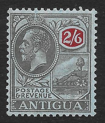 Antigua 1927 2/6 Black & Red/Blue SG 78 (Mint)