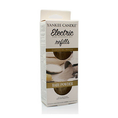 Yankee Candle Baby Powder Scent Plug Refills