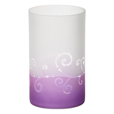 Yankee Candle Purple Scroll Jar Holder
