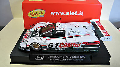 "Slot.it   Jaguar XJR12  #61   "" 1st Daytona 1990 ""   Ref.  CA13e"