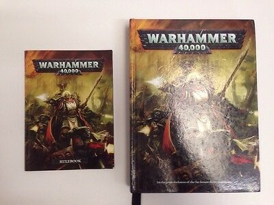 Lot Of 2 Warhammer 40k 6th Edition Rulebooks OOP #8