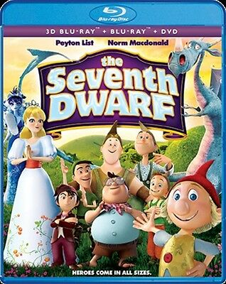 THE SEVENTH DWARF New Sealed Blu-ray 3D + Blu-ray + DVD