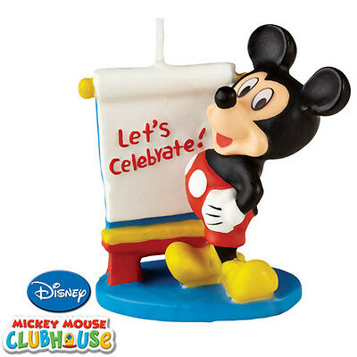 Wilton Mickey Mouse Clubhouse Cake Candle, Birthday Cake Cupcake Celebration New