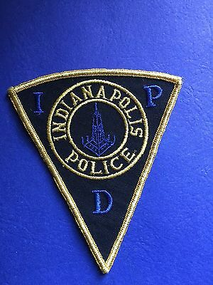 Indianapolis Indiana Police  Shoulder  Patch
