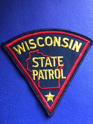 Wisconsin State Patrol Shoulder  Patch