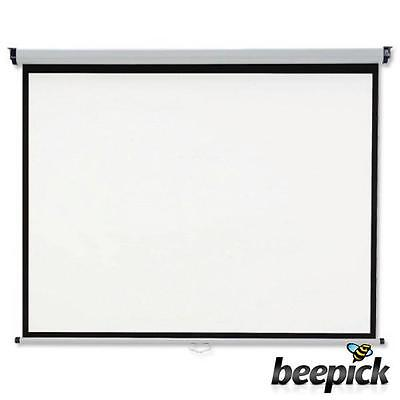 Nobo Projection screen Home Theatre/Office/Cinema Screen 4:3 Screen Format #3497