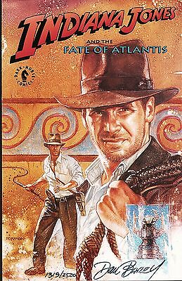 Indiana Jones and the Fate of Atlantis / Signed by Dan Barry & Limited to 2500