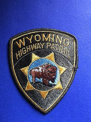 Woyming Highway Patrol Shoulder  Patch