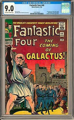 Fantastic Four #48 CGC 9.0 (OW-W) 1st appearance of Silver Surfer 1st Galactus