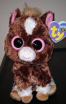 "Ty Beanie Boos ~ DAKOTA the 6"" Horse (2013 Version)  ~ MINT with MINT TAGS"