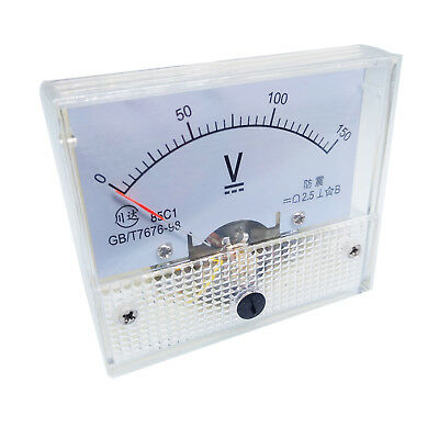 US Stock Analog Panel Volt Voltage Meter Voltmeter Gauge 85C1 0-150V DC