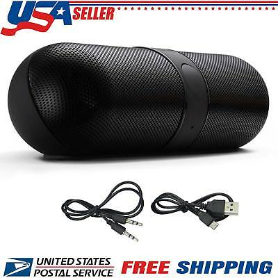 New Wireless Portable Bluetooth FM Stereo Speaker For Smart Phone Tablet iPhone