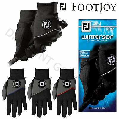 FootJoy Men's Wintersof Winter Golf Playing Gloves Pair