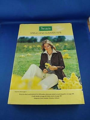 Sears Canada Catalogue Spring And Summer 1978 Bathing Suits Bikinis Appliances