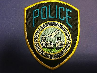 Hollis New Hampshire Police Shoulder Patch