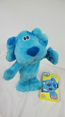 Blues Clues Fisher Price Sing & Boogie  Talking  Blues Room Vhs Tape