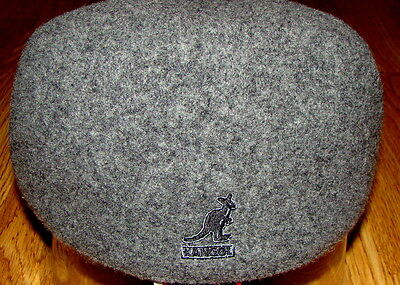 Mens Classic  Kangol  Wool  507  Seamless  Ivy  Cap  Color  Dark Flannel Grey