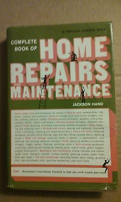 Complete Book of Home Repairs and Maintenance by Jackson Hand 1971 Hardcover GC